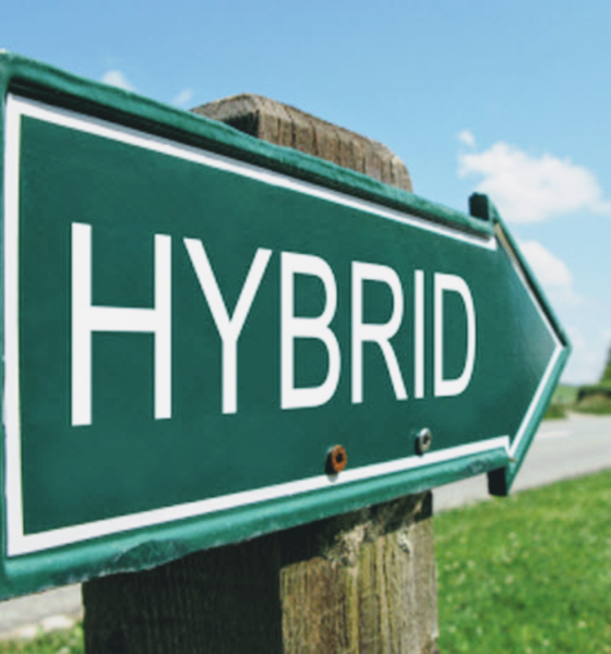 What's a Hybrid Author?
